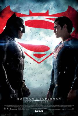 Batman v Superman Dawn of Justice theatrical poster