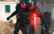 Black Manta flying