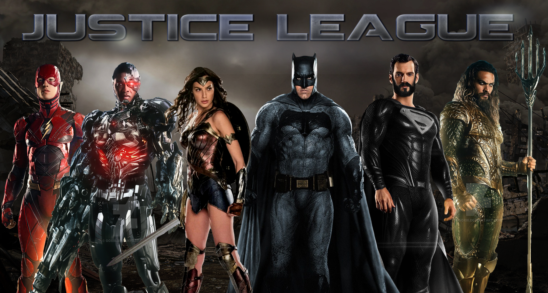 DCEU Justice League Wallpaper