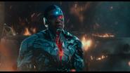 Snyder Cut - Cyborg energized