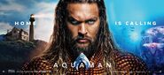 Aquaman banner - Home is Calling