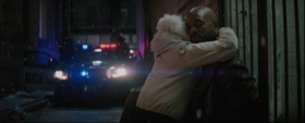 Deadshot saying goodbye