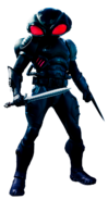 Aquaman - Render of Black Manta