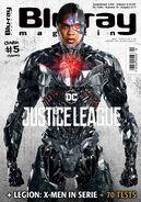 Blu-ray magazine-Cyborg