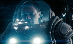 Zod space suit