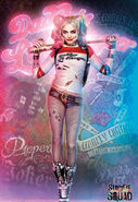 Harley Quinn character poster