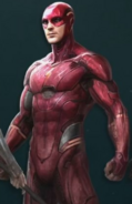 The Flash - cropped Justice League concept artwork