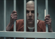 Lex Luthor in prison bar