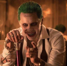 Joker at Table