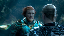 Nereus and Orm meet in the Council of Kings promotional still
