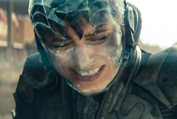 Faora's senses are overloaded