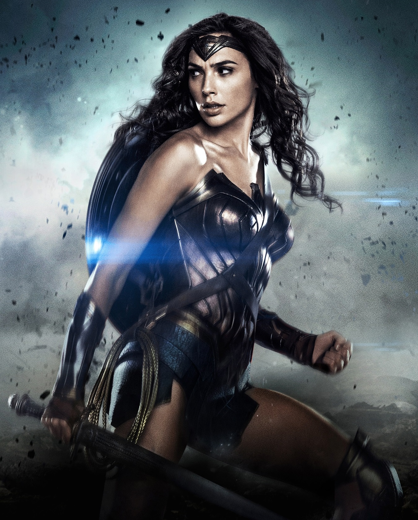 Wonder Woman Gal Gadot Poster