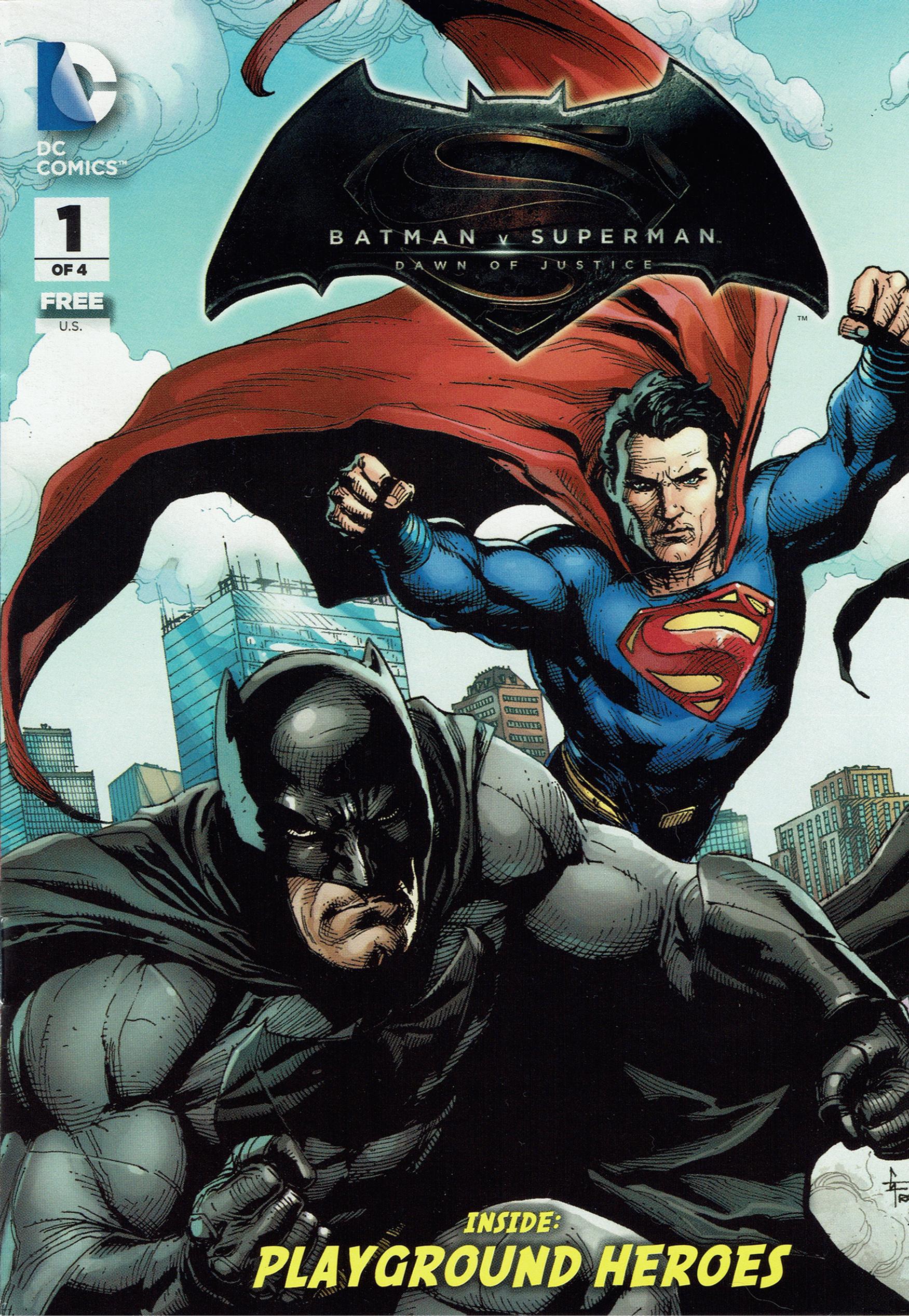 General Mills Presents Batman v Superman Dawn of Justice  DC