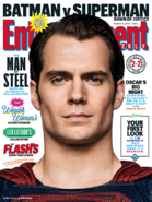 Entertainment Weekly - Batman v Superman Dawn of Justice March 2016 variant cover - Superman