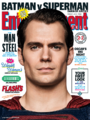 Entertainment Weekly - Batman v Superman Dawn of Justice March 2016 variant cover - Superman.png