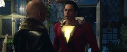 Sivana confronts Shazam!