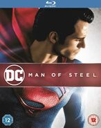 Man of Steel - Home Media - BluRay Re-release
