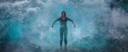 Mera holding back tsunami