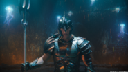 Orm before combat in the Ring of Fire promotional still