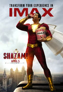 Shazam IMAX Poster