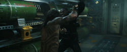Aquaman - Black Manta fights Arthur (1)