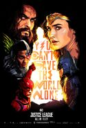 Justice League poster - Fandango