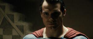 Superman confronts Amajagh