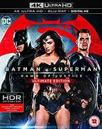 Batman vs Superman - Home Media - 4K UltraHD