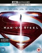 Man of Steel - Home Media - 4k UltraHD