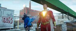 Shazam and Freddy testing strength (1)