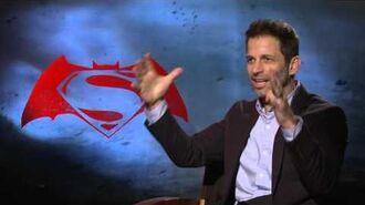 Batman V Superman Director Interview - Zack Snyder