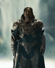 Jor-El wearing Kryptonian armor