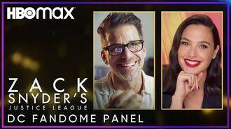 Zack Snyder's Justice League DC FanDome Panel HBO Max