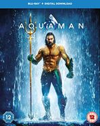 Aquaman DVD cover - Bluray