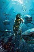 Justice League 11 - Aquaman variant cover