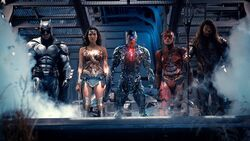 Justice League ready to battle Steppenwolf
