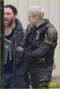 The Suicide Squad - BTS - cast (2)