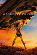 Wonder Woman - Lifts Tank - Poster