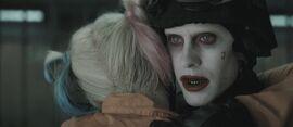 Joker frees Harley