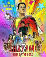 Shazam! Fury of the Gods unofficial poster 2