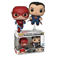 Funko - Justice League - Flash and Superman combo