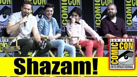 SHAZAM! Comic Con 2018 Full Panel (Zachary Levi, Asher Angel, Jack Dylan Grazer)