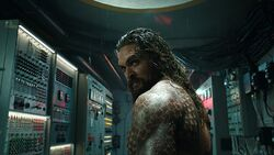 Aquaman in the submarine