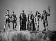 SZJL-BTS - Justice League on set