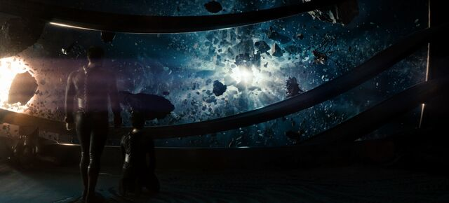 File:Zod and Faora observe the destruction of Krypton.jpg