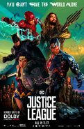 Justice League-Dolby Cinema poster