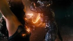 Wonder Woman faces Steppenwolf