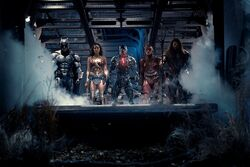 Justice League getting ready for battle