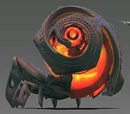 Brine cannon
