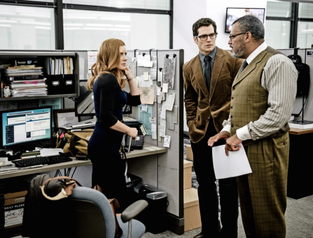 File:Lois Lane, Clark Kent and Perry White at the Daily Planet.png